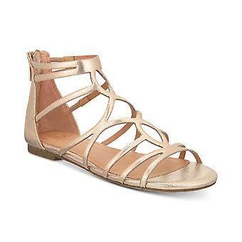 Material menina mulheres Sira tecido aberto Toe casual Strappy sandálias