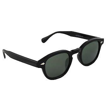 Sunglasses Women's Oval - Black/Groen2531_3