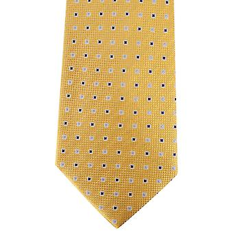 David Van Hagen Quadrate Tie - Gold