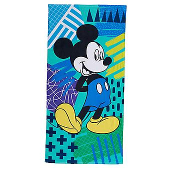 Mickey Mouse Blue Beach Handtuch