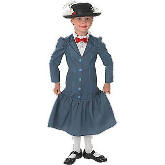 Girls Age 3 - 8 Years Mary Poppins Costume Film World Book Day Fancy Dress