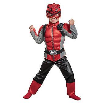 Rode Ranger kind kostuum-Power Rangers