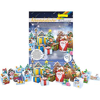 North Pole Advent Calendar Christmas Craft Kit - Makes 24 Boxes