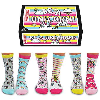 United Oddsocks Be A Unicorn Socks Gift Set For Women