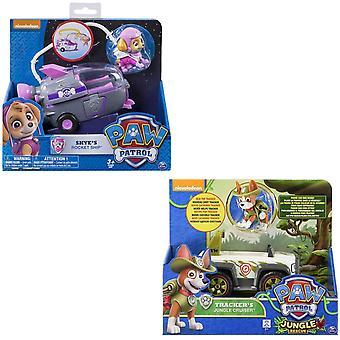 Paw Patrol Core Basic Vehicle med figur (stilar varierar-en medföljande)