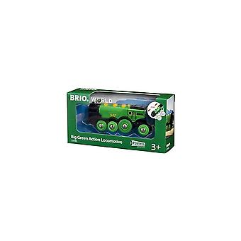 Brio 33593 Brio Big Green Action Locomotive