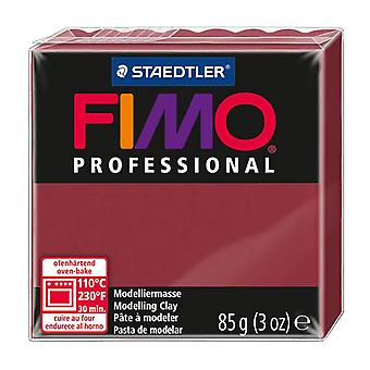 Fimo Professional Modelling Clay, Bordeaux, 85 g