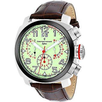 Christian Van Sant Men-apos;s Grand Python Luminous Dial Watch - CV3AU6