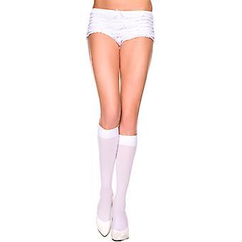 Base de genou bas-blanc