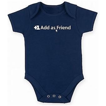 Body neonato blu navy trk0488 add friend