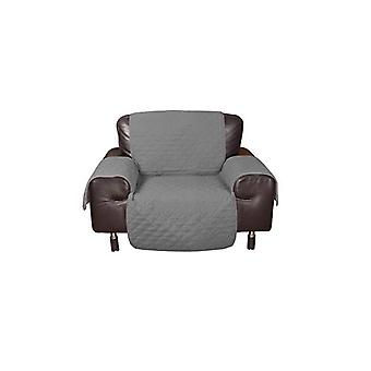 Waterproof Quilted Sofa Protector In Grey Colour