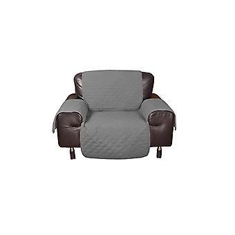 Vanntett vattert sofa Protector i grå farge