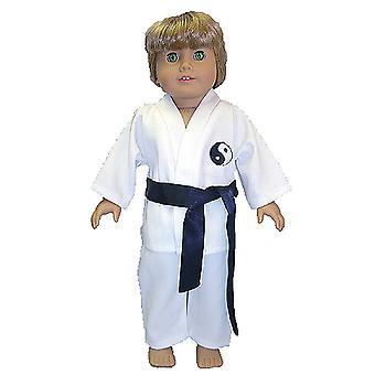 "18"" Doll Clothing Karate Outfit"
