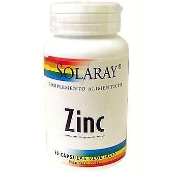 Solaray 50mg de zinco. 60cap.