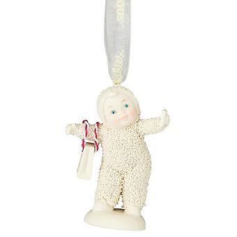 Snowbabies Selfie Hanging Ornament