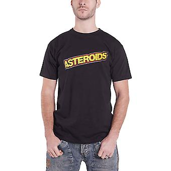 Atari T Shirt Astroids Logo new Official Retro Gamer Mens Black