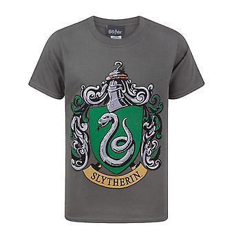 Harry Potter Slytherin Crest Boy's Camiseta
