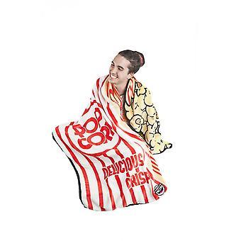 BigMouth Inc. Popcorn Fuzzy Blanket
