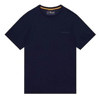 Penfield Men's Navy Wallpole T-shirt