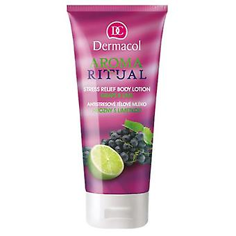 Dermacol  Aroma Ritual Stress Relief Body Lotion - Grape and Lime