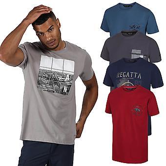 Regaty Męskie 2020 Cline IV Lekki oddychający t-shirt bawełniany