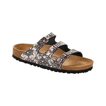 Birkenstock Florida BF 1015992 Boho Flowers Navy REGULAR