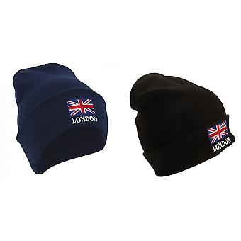 London England Unisex Knitted Hat