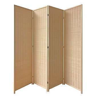 76_quote; x 1_quote; x 83_quote; 棕色, 竹子, 4 面板京都屏幕