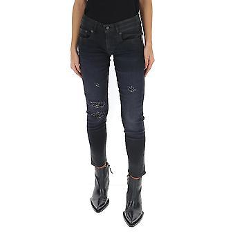 R13 R13w0086490 Women's Blue Cotton Jeans