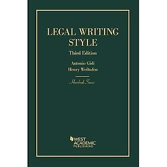 Legal Writing Style (Hornbook Series)