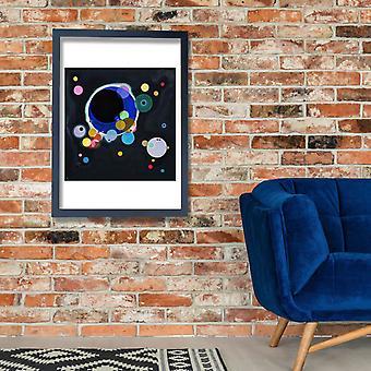 Wassily Kandinsky - Several Circles Poster Print Giclee