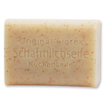 Florex kitchen soap with sheep's milk odour-retardant against typical kitchen odours such as onion garlic fish 100 g