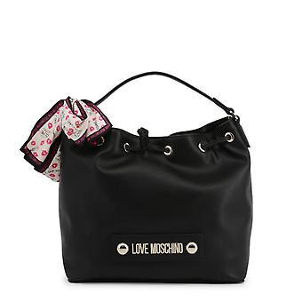 Love Moschino Original Women Fall/Winter Shoulder Bag - Black Color 37068