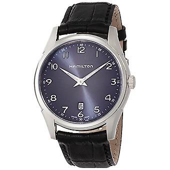 Hamilton analoog kwarts mannen horloge met lederen H38511743