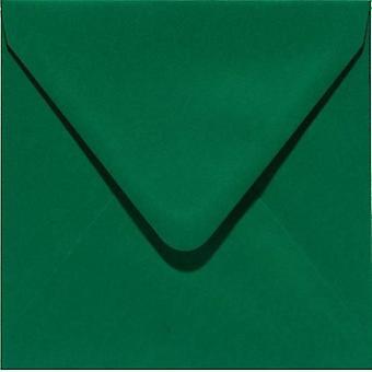 Papicolor Envelope Square 14cm dark green 105gr 6 pc 303950- 140x140 mm