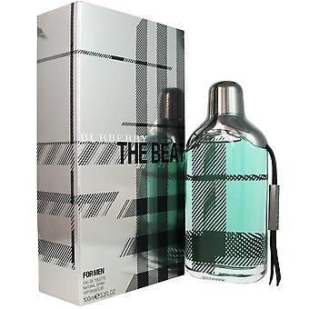 Burberry the beat for men 3.3 oz eau de toilette spray
