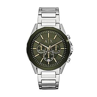 Armani Exchange Chronograph quartz men's Watch with stainless steel band AX2616
