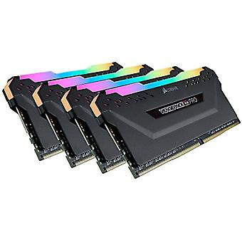 Corsair Vengeance RGB PRO RGB Led Memory Kit Enthusiastic 32 GB (4x8 GB), DDR4 3200 MHz, C14 XMP 2.0, Svart