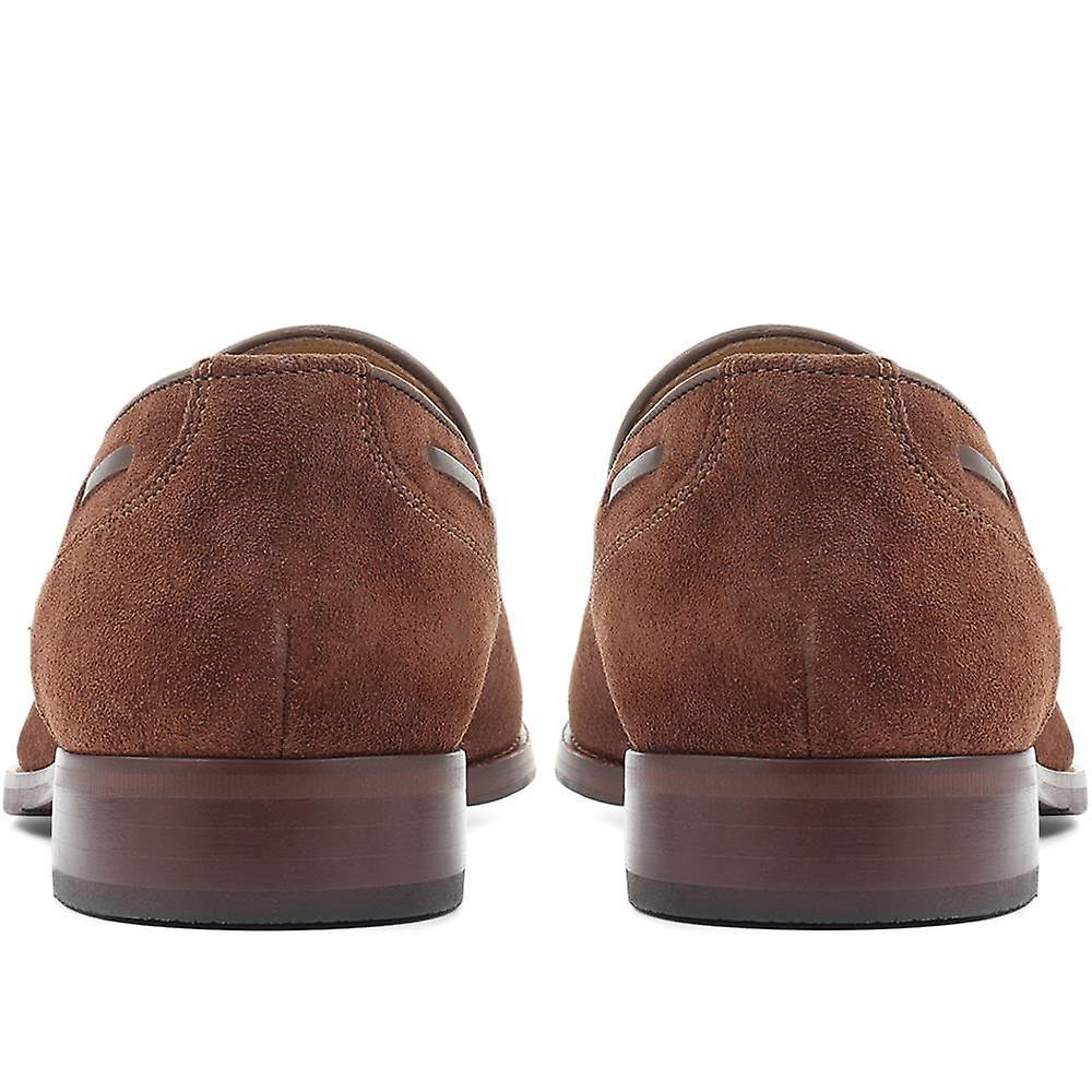 Jones Bootmaker Devon Läder Tofs Loafer - Gratis frakt