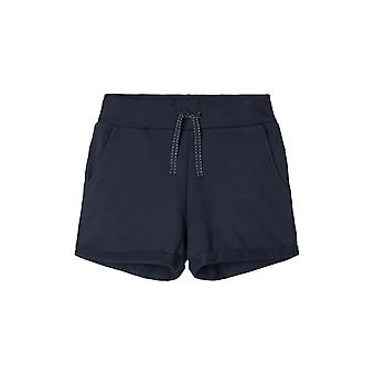 Nombre-it Girls Sweat Short Volta Dark Sapphire