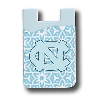 ノースカロライナタールヒールNCAAファッション携帯電話財布