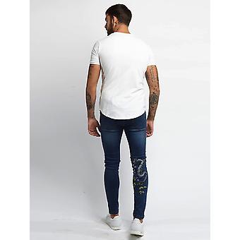 Always Rare Indigo Dragon Vincent Jeans Blue