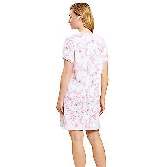 Rösch 1203144-15649 Women's New Romance Toile de Jouy Pink Nightdress