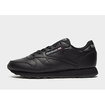 New Reebok Women's Classic Leather Trainers Black