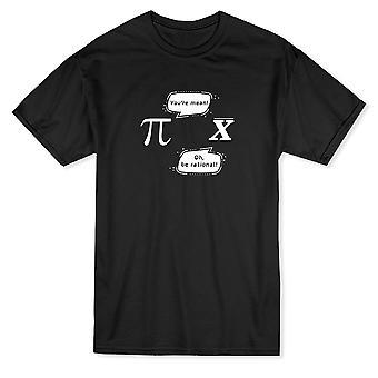 Math blague Pi X drôle de Dialogue graphiques T-shirt homme