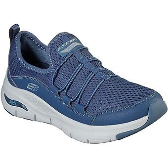 Skechers women's arch fit lucky thoughts sports shoe various colour 30318