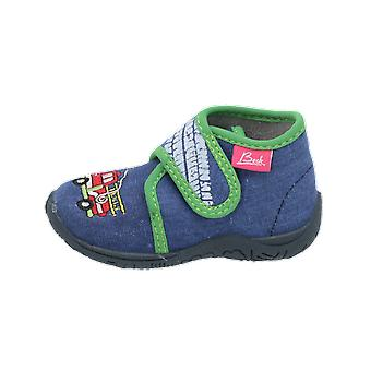 Beck Fire Brigade Kids Boys Boots Blue Lace-Boots Winter
