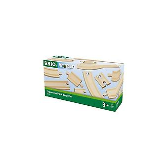 Brio BRIO 33401 Puinen rautatie - Laajennuspaketti Aloittelija