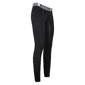Imperial Riding Royalty Womens Riding Tights - Black
