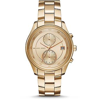 Michael Kors MK6464 Briar Gold Tone Dial Ladies Watch